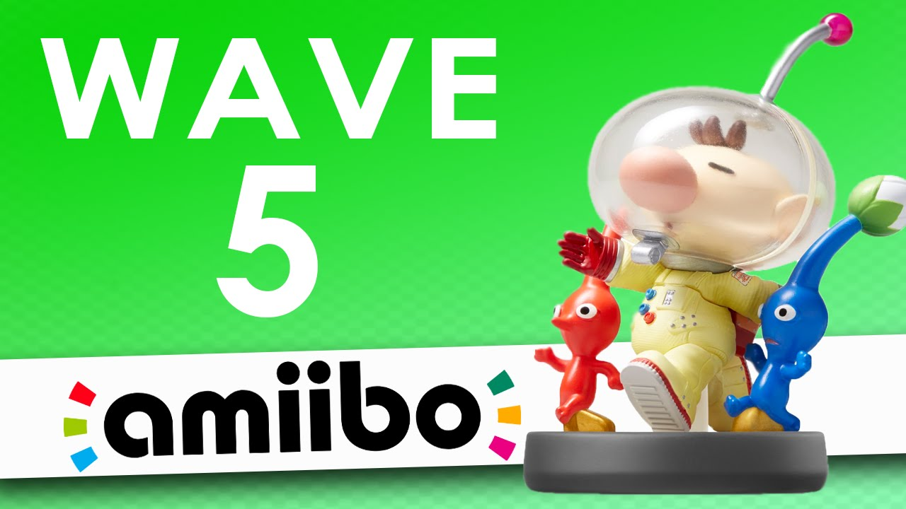 wave 5 amiibo facts theories youtube