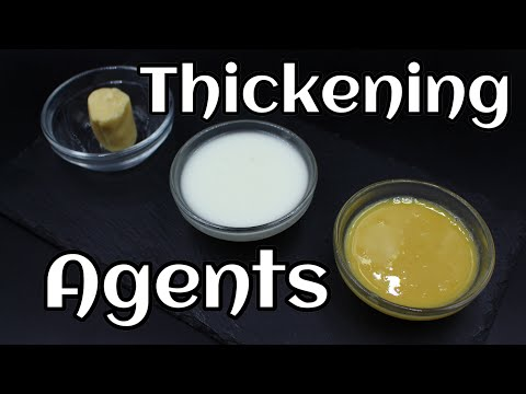 What Do Chefs Use To Thicken Sauce ��