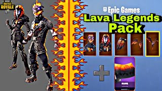 Fortnite NEW LAVA LEGENDS PACK😱 🔥 iz DA 🔥 - MAGMA TARNUNG🔥 TO KRASS !! BATAILLE ROYALE