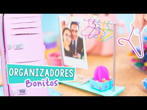 Thumbnail: MINI ORGANIZADORES DE ESCRITORIO Super Lindos y Fáciles [ Casillero + Perchero ] ✄ Craftingeek