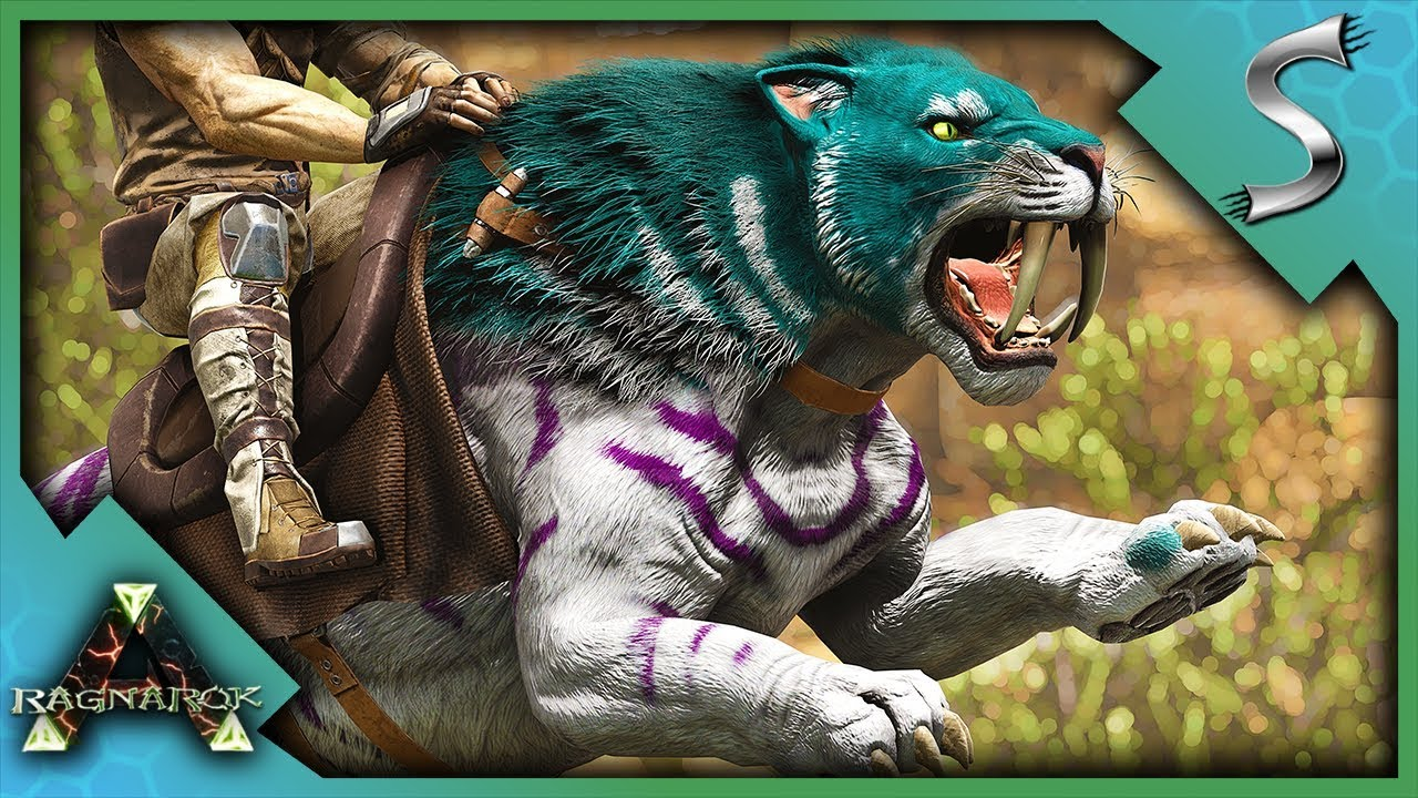 SABERTOOTH BREEDING AND MUTATIONS! - Ark: Survival Evolved [Cluster E70]