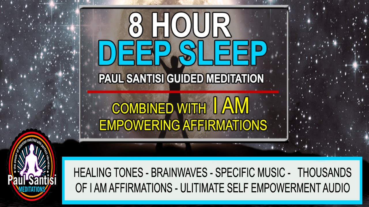 Good Night 8 Hour Deep Sleep with I AM Affirmations Music ...