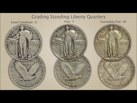 Grading Standing Liberty Quarters