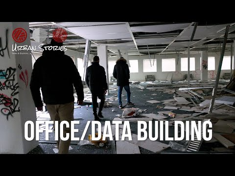 Exploring abandoned OFFICE BUILDING In A Big City | Getronics | Urbex Netherlands