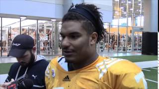 #VolReport: Jordan Williams Media Session (10/21/14)