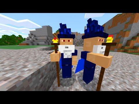 Minecraft Wizard Race! (Skybounds Skyblock)