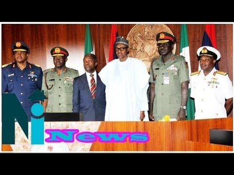 Military chiefs: why buhari extended tenure of armed forces bosses