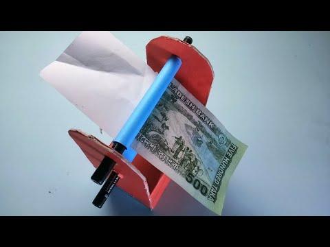 Money printing machine 500 TK Note By Bangladesh,ONE TIME IDEA