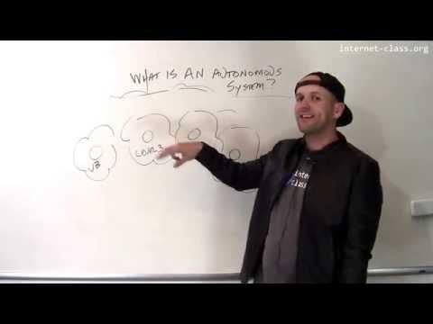 What is an autonomous system?