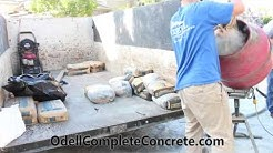 How To Pour and Fix Cracked Concrete From Tree Roots