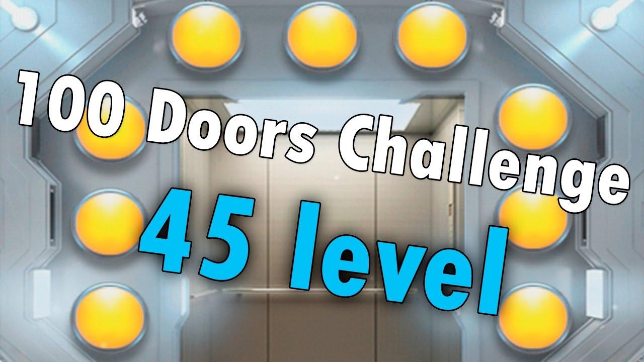 45 Uroven 100 Doors Challenge 100 Dverej Vyzov Prohozhdenie Youtube