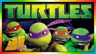 Repeat youtube video TURTLES - Part 1 - TMNT - Teenage Mutant Ninja Hero Turtles - Les Tortues ninja (Game - Videogame)