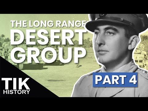 RETREAT! Documentary on the Long Range Desert Group   Part 4 BATTLESTORM