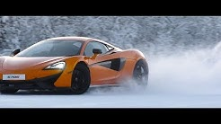 McLaren 570S Ice Driving in Ivalo, Finland