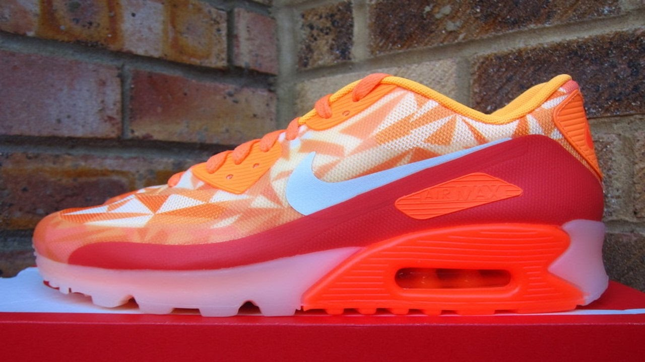 new product 60da7 ff2a8 Review  Nike Air Max 90 Ice Atomic Mango (2014)