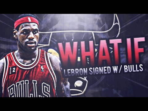 WHAT IF LEBRON SIGNED WITH THE BULLS IN 2010? BULLS REBUILD! NBA 2K17