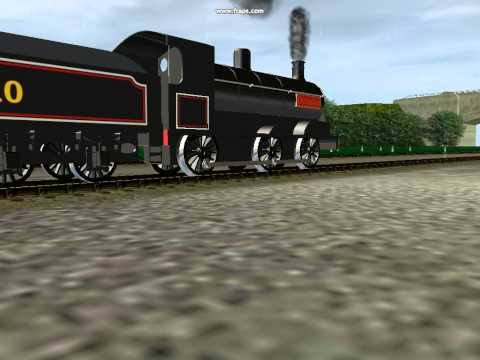 Deleted scene- Twins Trucks and Trouble: Douglas's Passenger train