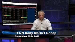 September 20th Daily Market Recap with Tom O'Brien on TFNN