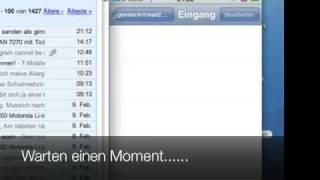 Push mail auf das iPhone Account gmail, yahoo, gmx Windows Mac