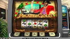 Free Pirates Gold slot machine by NetEnt gameplay ★ SlotsUp