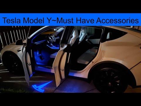 Tesla Model Y~Must Have Accessories