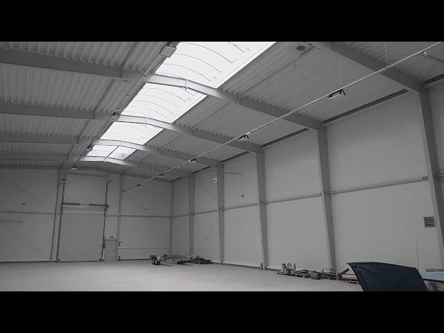 WYNAJME - Hala magazynowo-produkcyjna 1200 m2