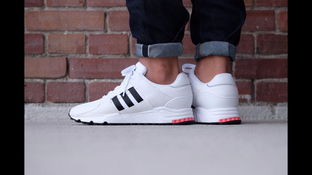 90bcbc6aed1 Unboxing Review sneakers Adidas EQT SUPPORT RF Vintage White BA7715
