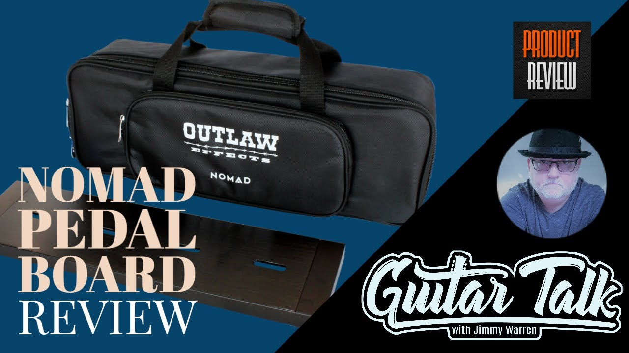 Nomad Pedalboard Review - Guitar Talk