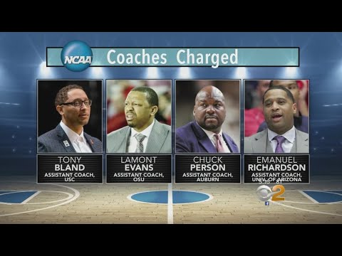 NCAA Basketball Coaches Among 10 Charged With Fraud And Corruption