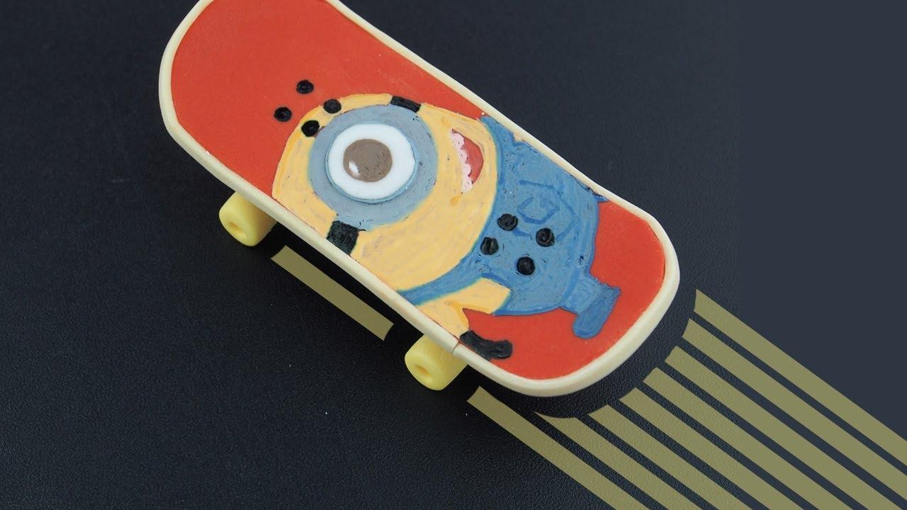 Fondant Skateboard Cake