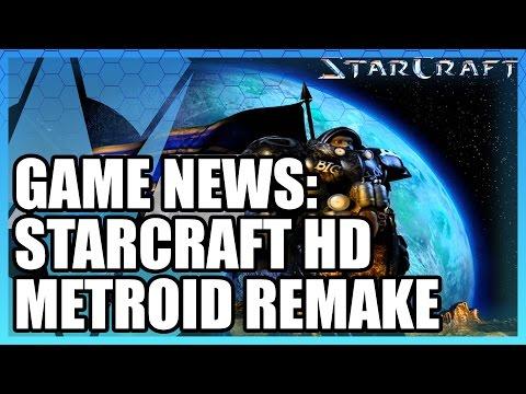 Game News: StarCraft HD, Metroid Remake, Pokemon Uranium