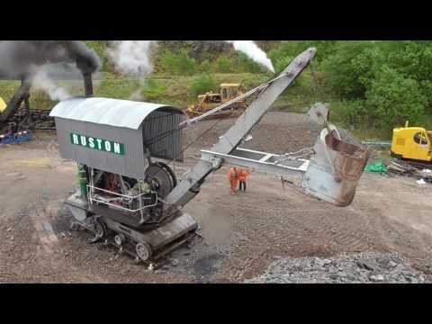 Ruston Holley Steam navvy Threkeld May 2014