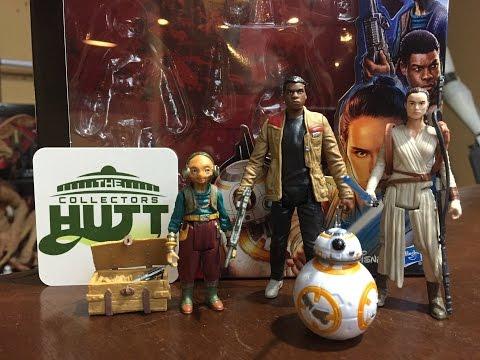 Star Wars The Force Awakens Takodana Encounter With Maz Kanata Action Figure Review