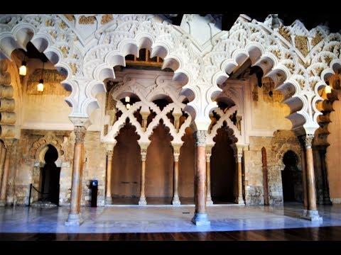 Palacio de la Aljafería - Patrimonio de la Humanidad - Zaragoza - España -