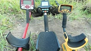Treker GC-1026 vs Minelab X-Terra 305 and Garrett ACE250