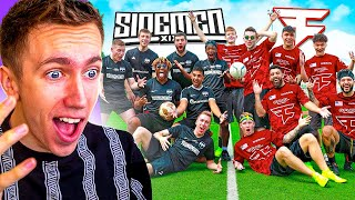 MINIMINTER REACTS TO SIDEMEN vs FAZE CROSSBAR CHALLENGE!