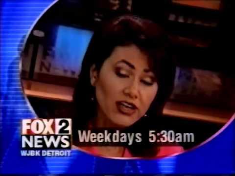 1998 WJBK Fox 2 Morning: Lucy Noland, Alan Lee, Kam Carmen