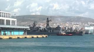 видео Сторожевой корабль «Ярослав Мудрый» проекта 11540 ВМС России