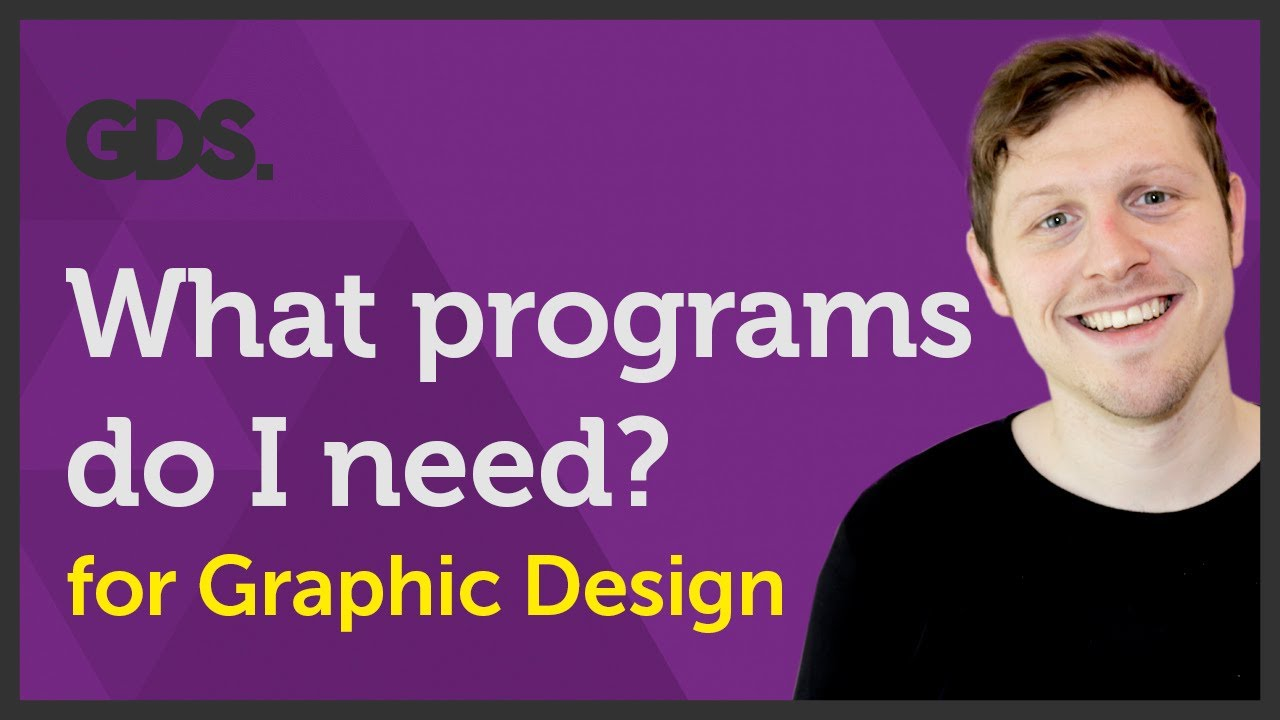 What programs do I need as a Graphic designer? Ep32/45 [Beginners guide to Graphic Design]