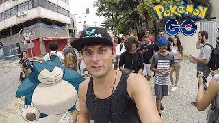 Snorlax em Cabo Frio! Pokemon GO