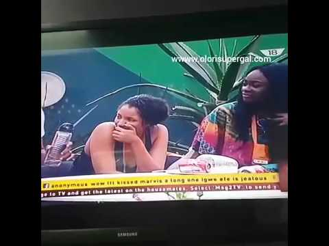 Download BBnaija Big Brother Naija Update - Miyonse And Tboss Tboss And TTT Kiss