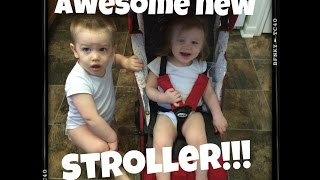 AWESOME NEW STROLLER!! 2-27-15 Daily Vlog  {Day 229}