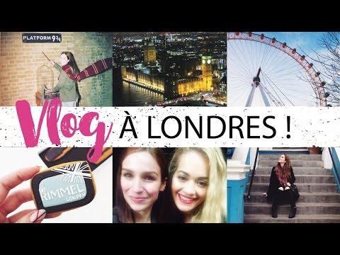Vlog # 15 - Londres, mon rêve ! ♥