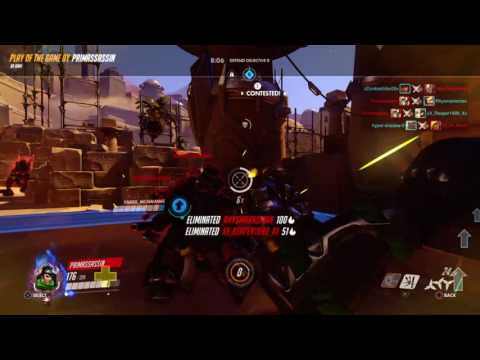 Overwatch: Genji 6 kill