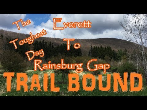 Trail Bound Hiking Pennsylvania's  Mid State Trail Day 24 Everett To Rainsburg Gap Section 2