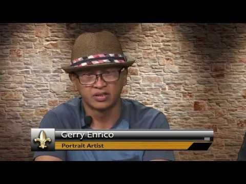 Exposition - Gerry Enrico, Portrait Artist