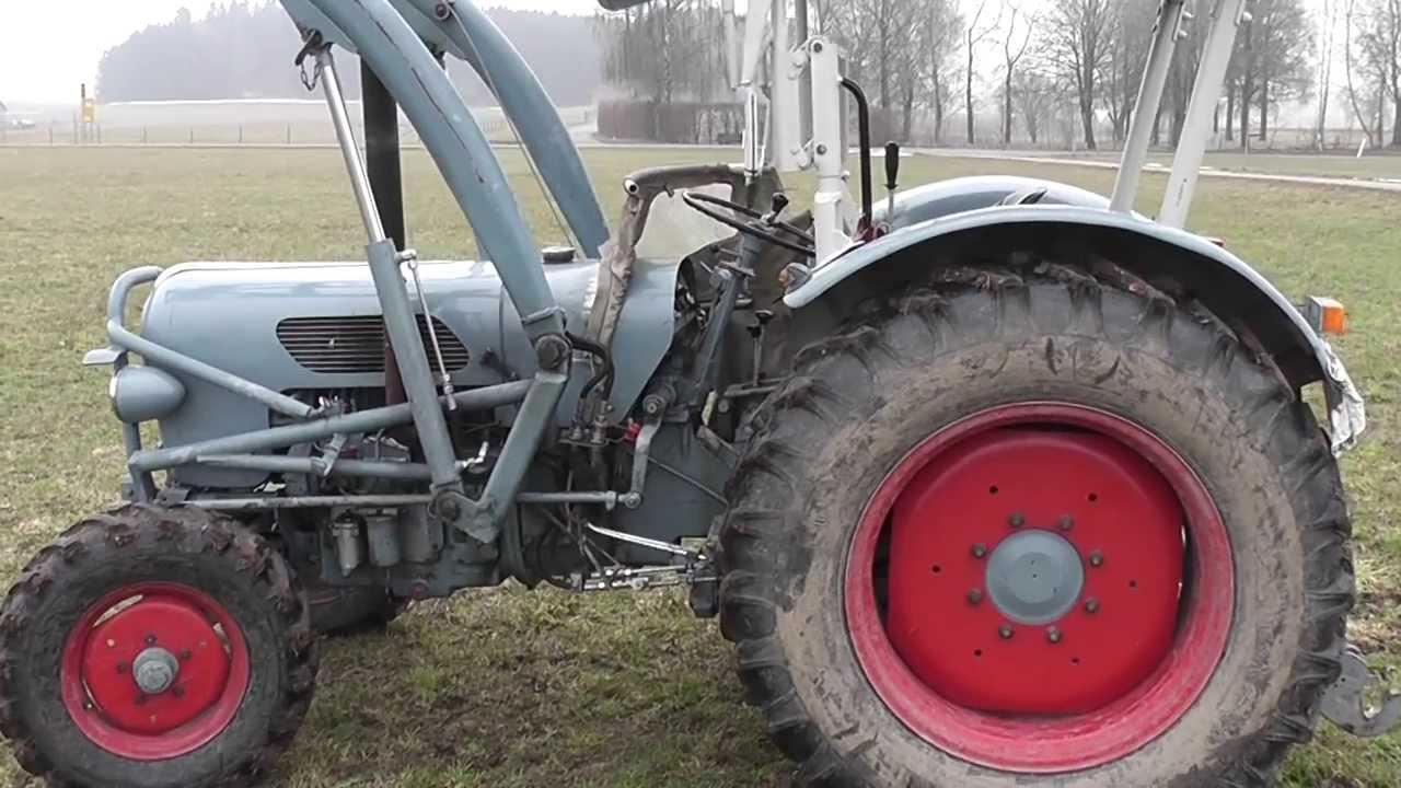 eicher em300 k nigstiger traktor youtube. Black Bedroom Furniture Sets. Home Design Ideas