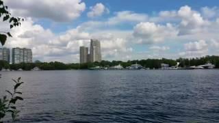 Москва. Пляж Покровский берег