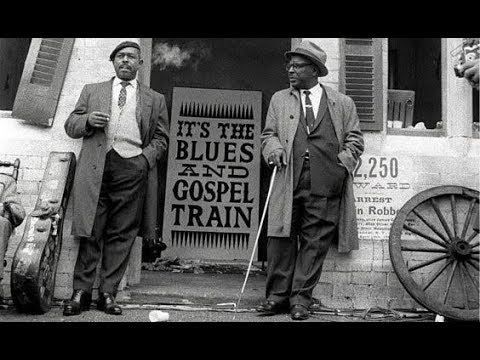 The Blues and Gospel Train .. 1964 .. Manchester .. England