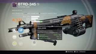 Destiny: Reforging BTRD-345, Legendary heavy machine gun, Best roles